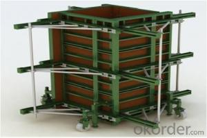 SF120 Adjustable Steel Frame Formwork with thickness of 18mm