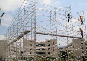 Ring Lock Scaffolding System for Construction Buildings in Formwork
