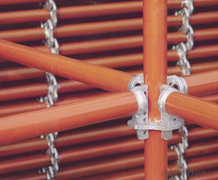 Ring Lock Scaffolding System for High-rise Buildings in Formwork