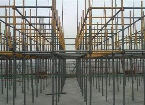 Ring Lock Scaffolding System for Commercial Buildings
