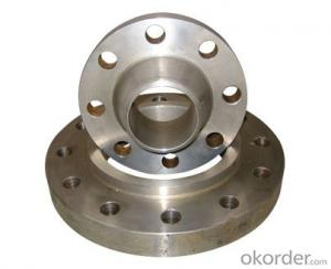 Steel Flange Stainle Steel Backing Ring Flange/din 2633 Wn Stainless on Sale