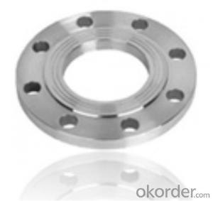 Steel Flange Stainle Steel Backing Ring Flange/din 2633 Wn Stainless from China on Sale