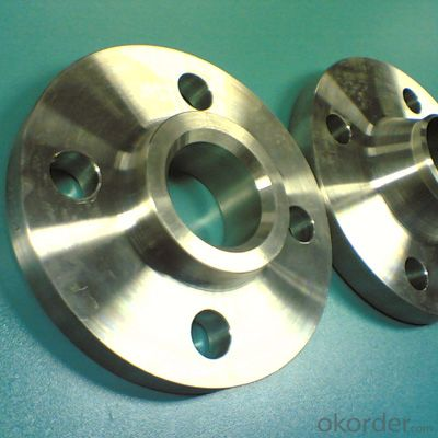 Steel Flange Stainle Steel Backing Ring Flange/din 2633 Wn Stainless Made in China