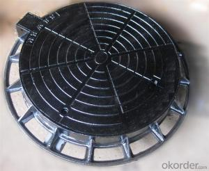 Manhole Cover Ductile Iron with Round on Sale