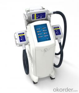 Coolplas Cryolipolysis fat freezing machine for body slimming