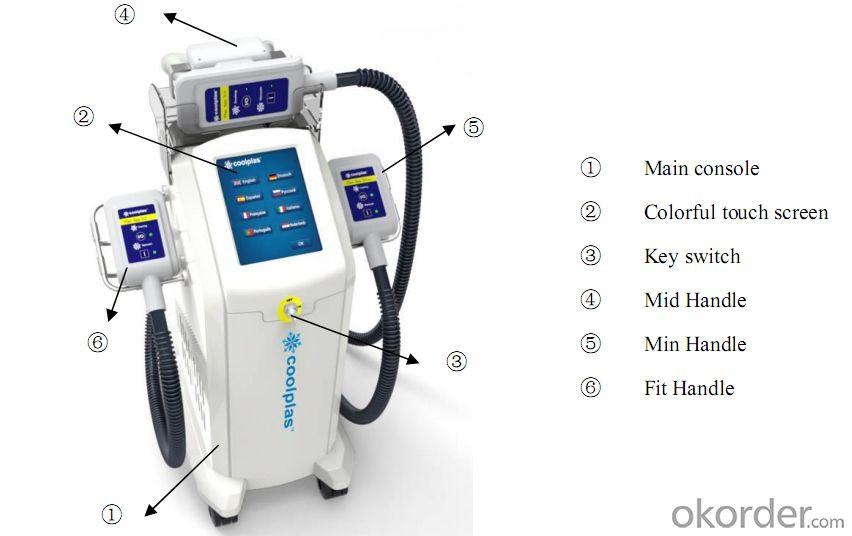 China best cryolipolysis machine / slimming equipment price