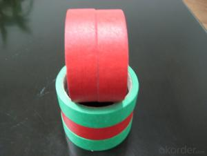 Masking Tape with Paper Manufactured in Mainland of China