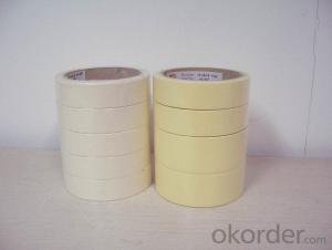 Masking Tape of Low Tack and Various Colors