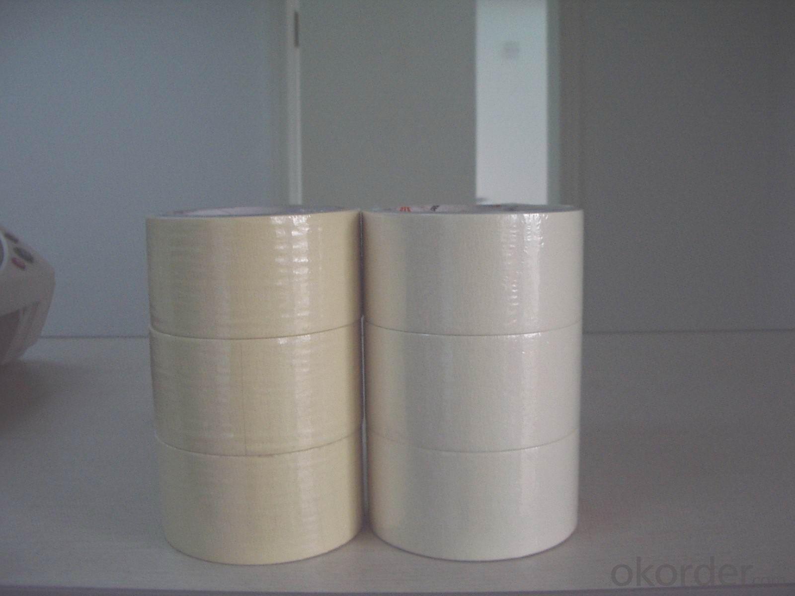 Masking Tape Based on Natural Rubber Adhesive Acrylic