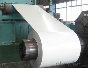 Full Hard HB PPGI Color Coated Steel Coil Construction Materials