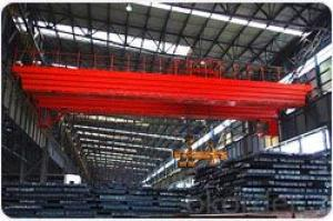 Billets & Steel Plate Lifting Eectromagnet Overhead Crane