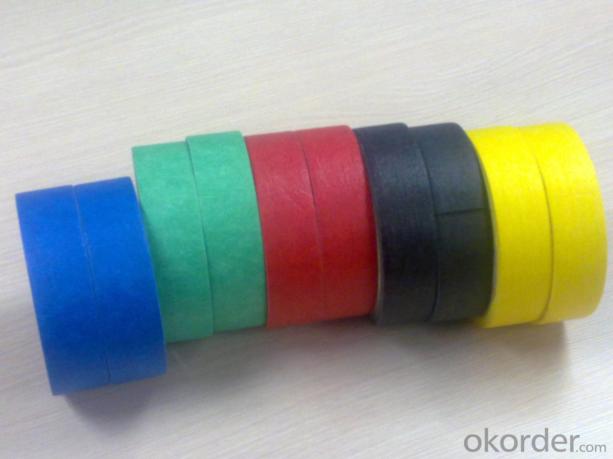 Masking Tape in Various Colors and Sizes Medium Tack