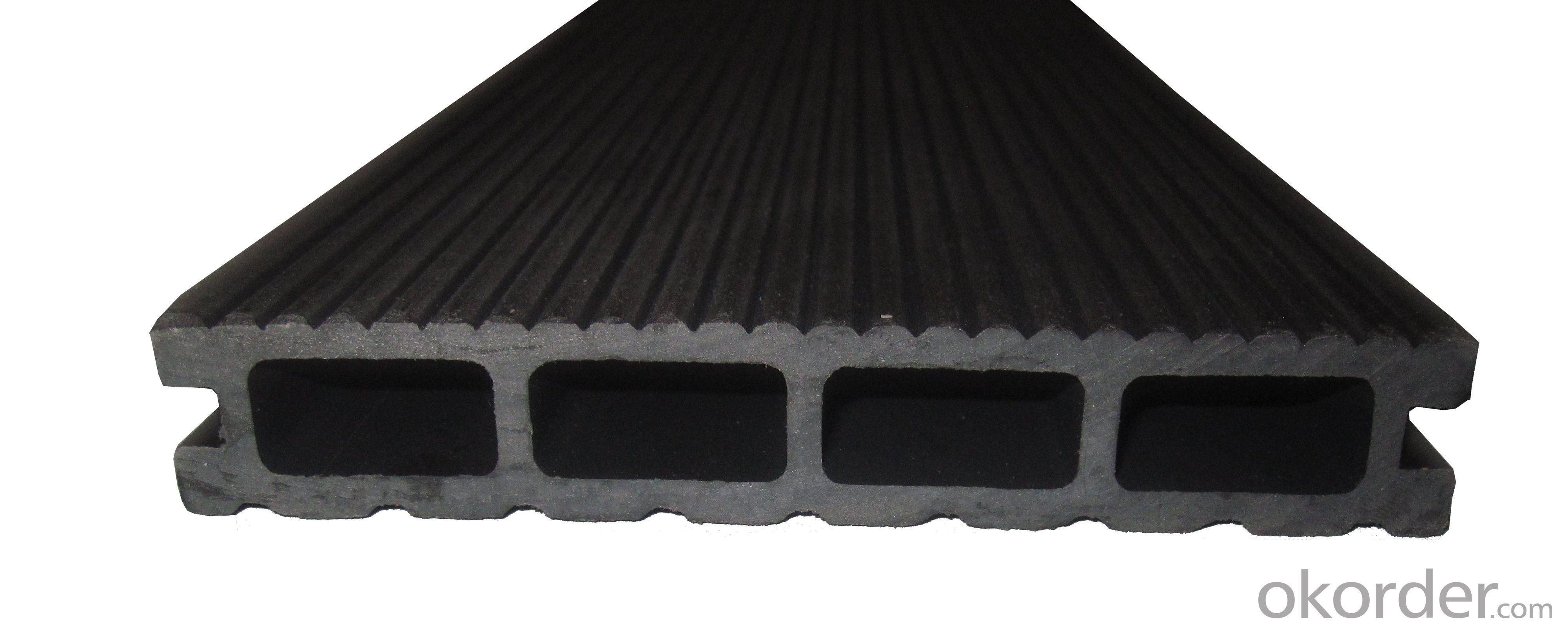 Anti-UV Waterproof Co-extrusion Wood Plastic Composite Playground Passed CE