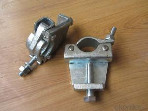 Scaffolding Coupler Steel Galvanized Forged Fixed Beam Coupler 48.3