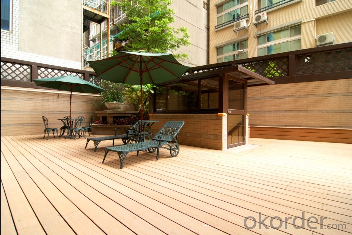 WPC, cost-effective outdoor non-fading wood plastic composite
