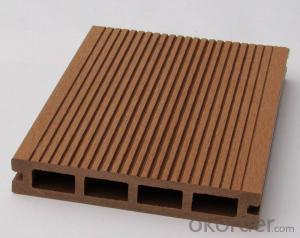 Anti-UV Waterproof Co-extrusion Plastic Wood Veneer Sheet Passed CE