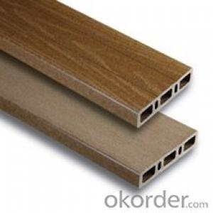 Anti-UV Waterproof Co-extrusion recycled plastic wood flooring Passed CE