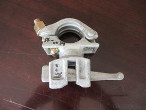 Galvanized Forged Swivel Coupler with Casting Steel Wedge Head