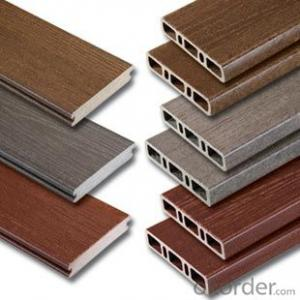 Anti-UV Co-extrusion Plastic Wood Floor Passed CE