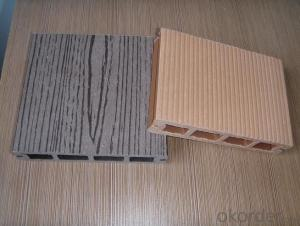 Anti-UV Waterproof Co-extrusion Plastic Wood Veneer Sheet Passed CE