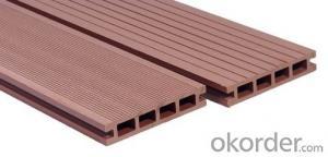 Anti-UV Waterproof Co-extrusion plastic imitation wood Passed CE