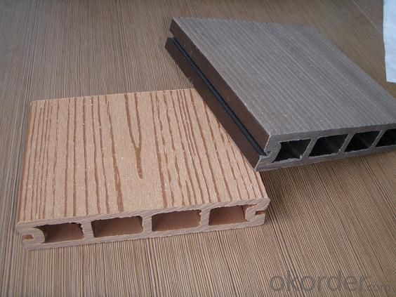 Anti-UV Waterproof Co-extrusion Indoor WPC Floor Wood Plastic Composite Passed CE