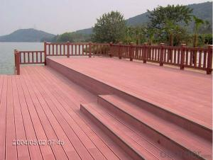 Synthetic Wooden Decking in high quality and cheap pric