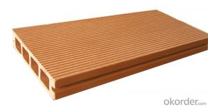 recycled material waterproof composite decking boards
