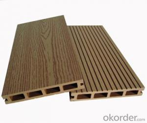 WPC decking floor, recycled material waterproof WPC decking floor