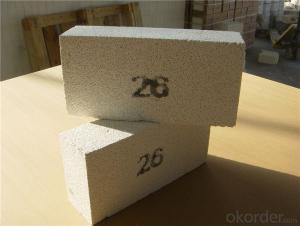 Common Size Excellent Insulating Effect Fire Clay Brick Used for Heat Treatment Furnace