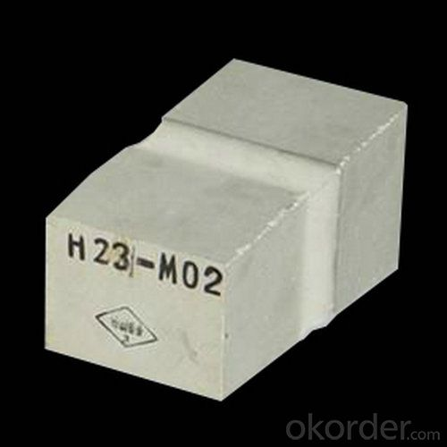 Fused Cast Alumina (α--β Al2O3 and β Al2O3) Firebricks