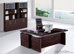 Office Desk Commerical Table MDF/Glass with Low Price CN802