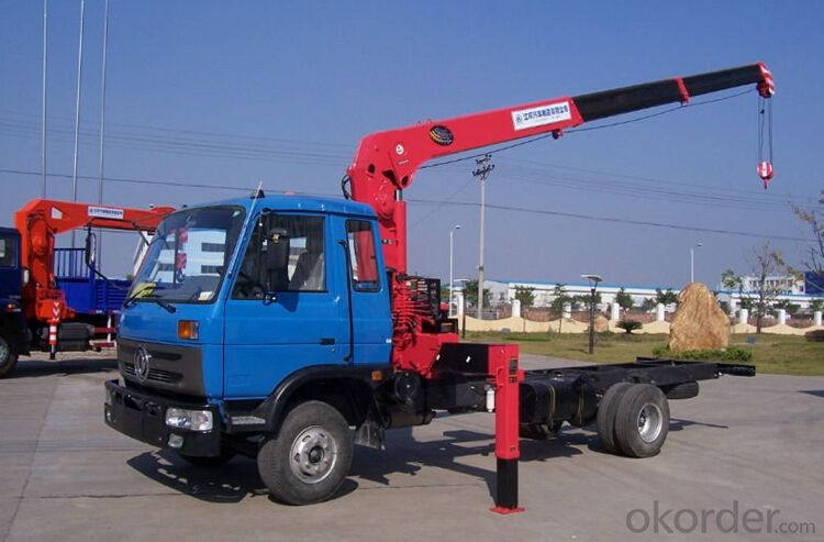 Telescopic Boom Truck Crane with 12 ton