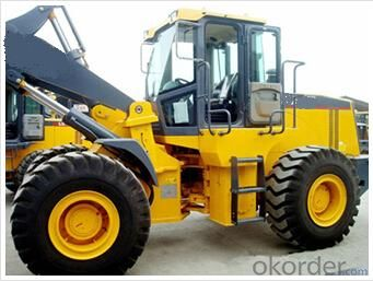 Wheel loader with bucket capacity  of  3.0 m3 model number ZL50G
