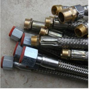 Stainless Steel Braid Hose with 1/3'' Fittings