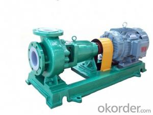 Fluorine Plastic Chemical Centrifugal Pump IHF Series