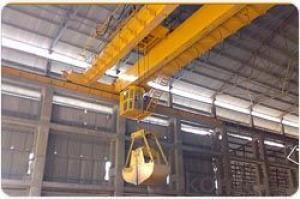 Wireless Remote Control Bulk Cargo Crane Grab Crane