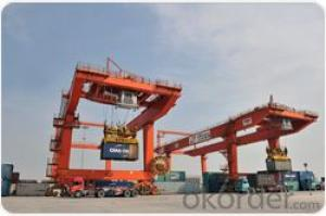 Rail Mounted Container Crane to lift 20'40' ISO standard container