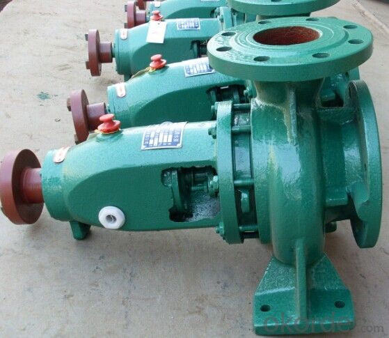 Single Stage Single-Suction Cantilever Type Chemical Centrifugal Pump IH Series