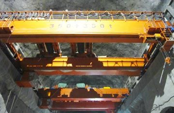 Advanced Design Hydropower Station Overhead Crane