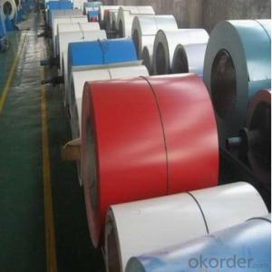 Corrugated Roofing Sheet Color Coated Steel Coil PPGI