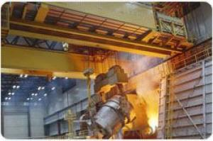 Steel Plant Use Hot Environment Charging Crane