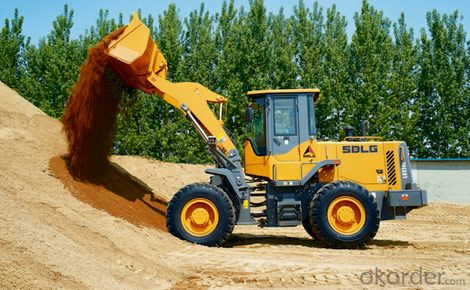 SDLG Brand Wheel Loader with 3ton Loading Capacity LG36L