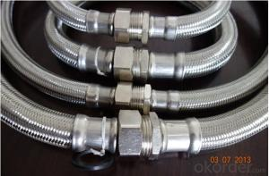 Stainless Steel Braid Hose with High Pressure Corrugated