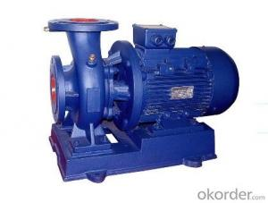 Single Stage Horizontal Centrifugal Pump ISW Series