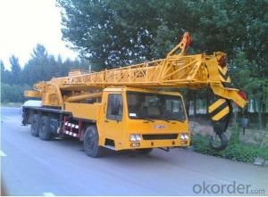 Telescopic Boom truck mounted crane with 16T