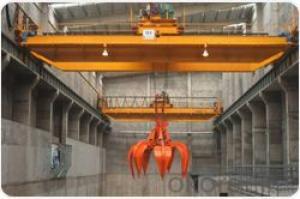 Clamshell Scrap Cargo Grab Bucket Double Beam Crane