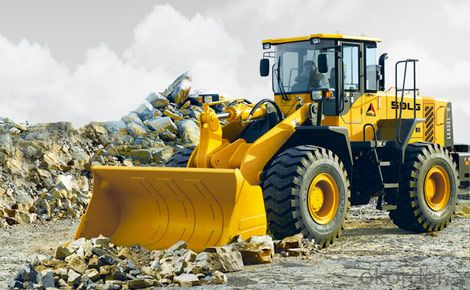 SDLG Brand Wheel Loader with 5ton Loading Capacity LG956L