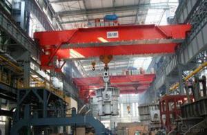 Double Girder Overhead Ladle Crane for Steel Factory