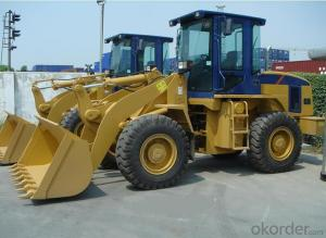 Wheel loader with bucket capacity of 0.8m3   CGL816C
